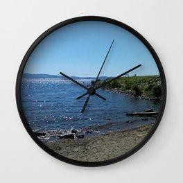 Waterfrontal Assault Wall Clock