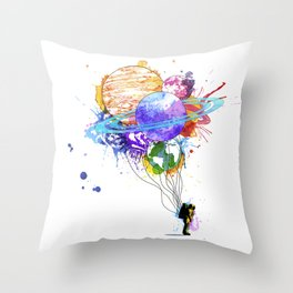 Hold on to Your Dreams Throw Pillow