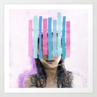Trapped In My Thoughts Art Print