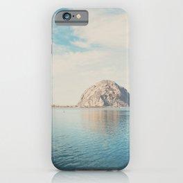Morro Rock photograph iPhone Case