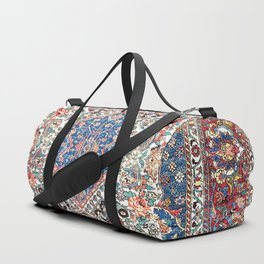 Bakhtiari Central Persian Rug Print Duffle Bag