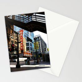 Under State Street Stationery Cards