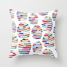 Funny Mirror ball  Throw Pillow