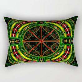 Bear Medicine Rectangular Pillow