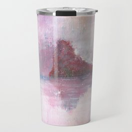 Abstract Red Landscape Travel Mug