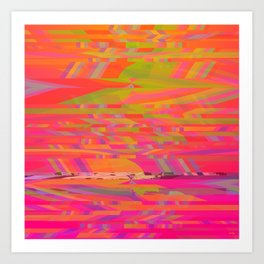 Rainbow Storms Art Print