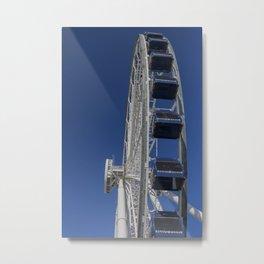 Navy Pier Ferris Wheel Metal Print