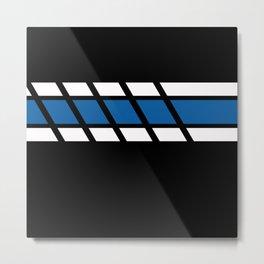 Team Colors 4...Royal Blue Metal Print