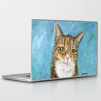 flora Laptop & iPad Skins featuring Flora by gretzky