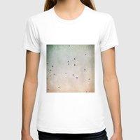flight T-shirts featuring flight by Bonnie Jakobsen-Martin