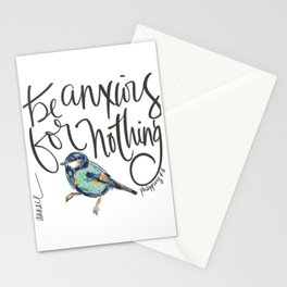 PHILIPPIANS FOUR VERSE SIX (4:6) Stationery Cards