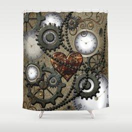 Steampunk II Shower Curtain