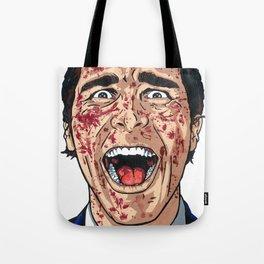 Patrick Bateman the American Psycho Tote Bag