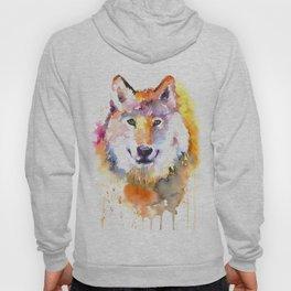Fox Watercolour Art Hoody