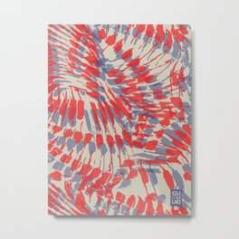 Iggy Palms Metal Print