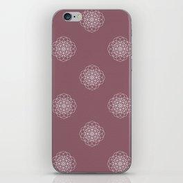 Blush Geometry iPhone Skin