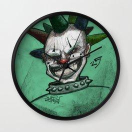 Clown 25 Wall Clock