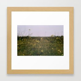 The flower of marvels Framed Art Print