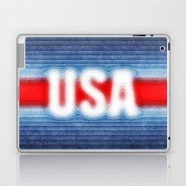 USA Typography Laptop & iPad Skin