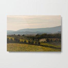 Tuscan Winery Metal Print