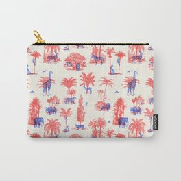 Where they Belong - Bright Colors Carry-All Pouch