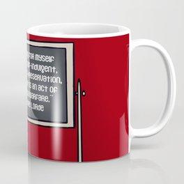 Audre Lorde on Self-Care Coffee Mug