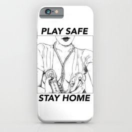 asc 452 - Le plaisir ambidextre (Two-handed foreplay) STAY HOME iPhone Case