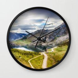 The Lakes of Covadonga, Enol Wall Clock