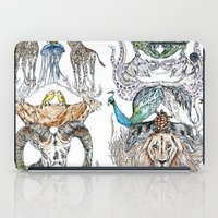 wild things iPad Cases featuring Wild Things by Carley Lee