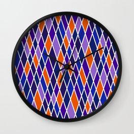 Court-Jester 3 Wall Clock
