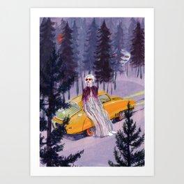 Pegaso Art Print