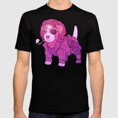 Kurt Russell Terrier - Snake Plissken Black X-LARGE Mens Fitted Tee