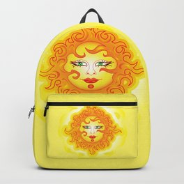 Abstract Sun G218 Backpack