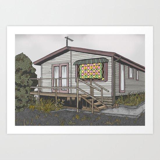 House 03 Art Print