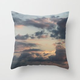 goodbye · sky Throw Pillow
