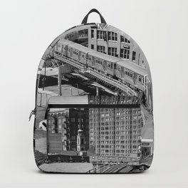 Brown Line Backpack