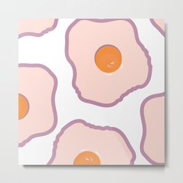 Eggs | Metal Print