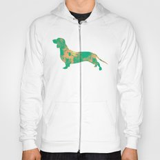 Dachshund hunt variation 3 art print Hoody