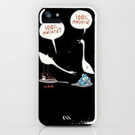 100% Mallard iPhone Case