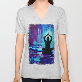 Namaste Yoga Painting Unisex V-Neck