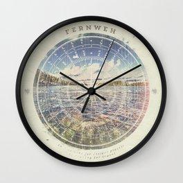 Fernweh Vol 1 Wall Clock