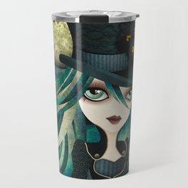Raven's Moon Travel Mug