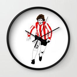 Woody. Wall Clock