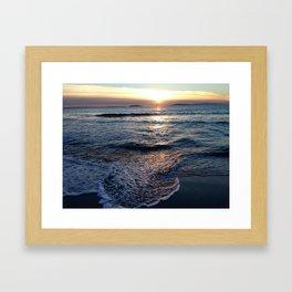 Silver Strand Paradise Framed Art Print