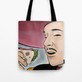 Pedro y Los Tacos de Pescado Tote Bag
