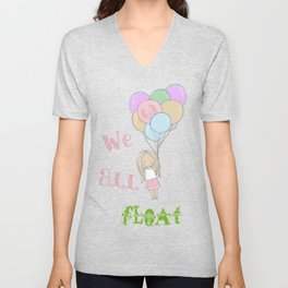 We All Float Unisex V-Neck