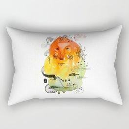OrangeCloud Rectangular Pillow