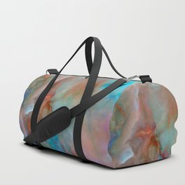 Colorful watercolor abstraction Duffle Bag