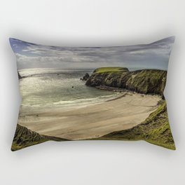 Silverstrand beach Rectangular Pillow