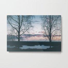 Benka Lake Metal Print